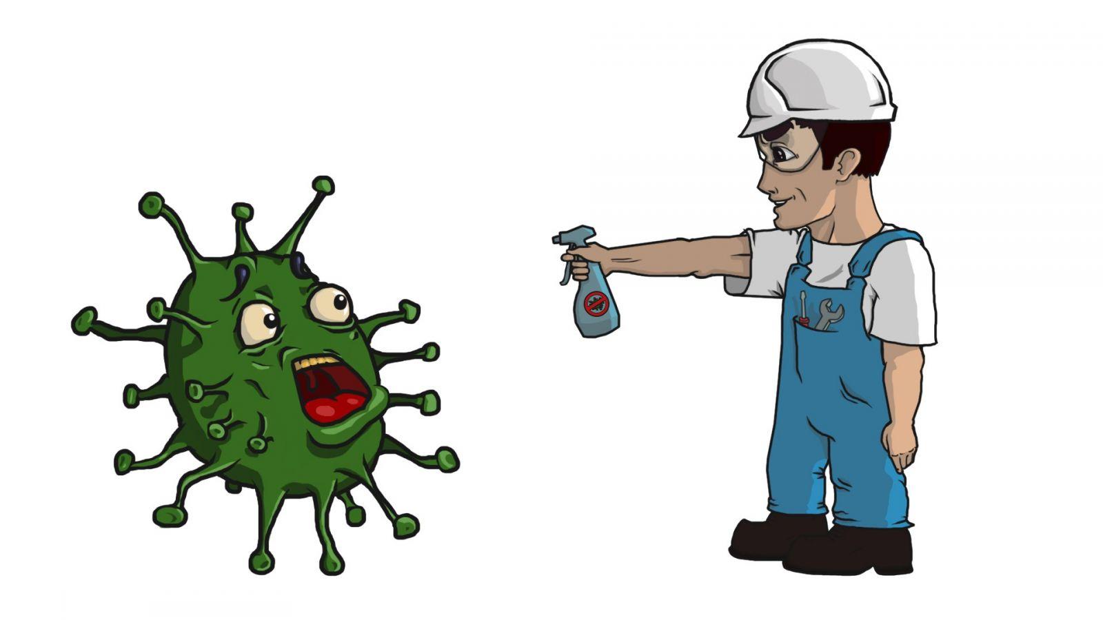 дезинфекция от бактерий