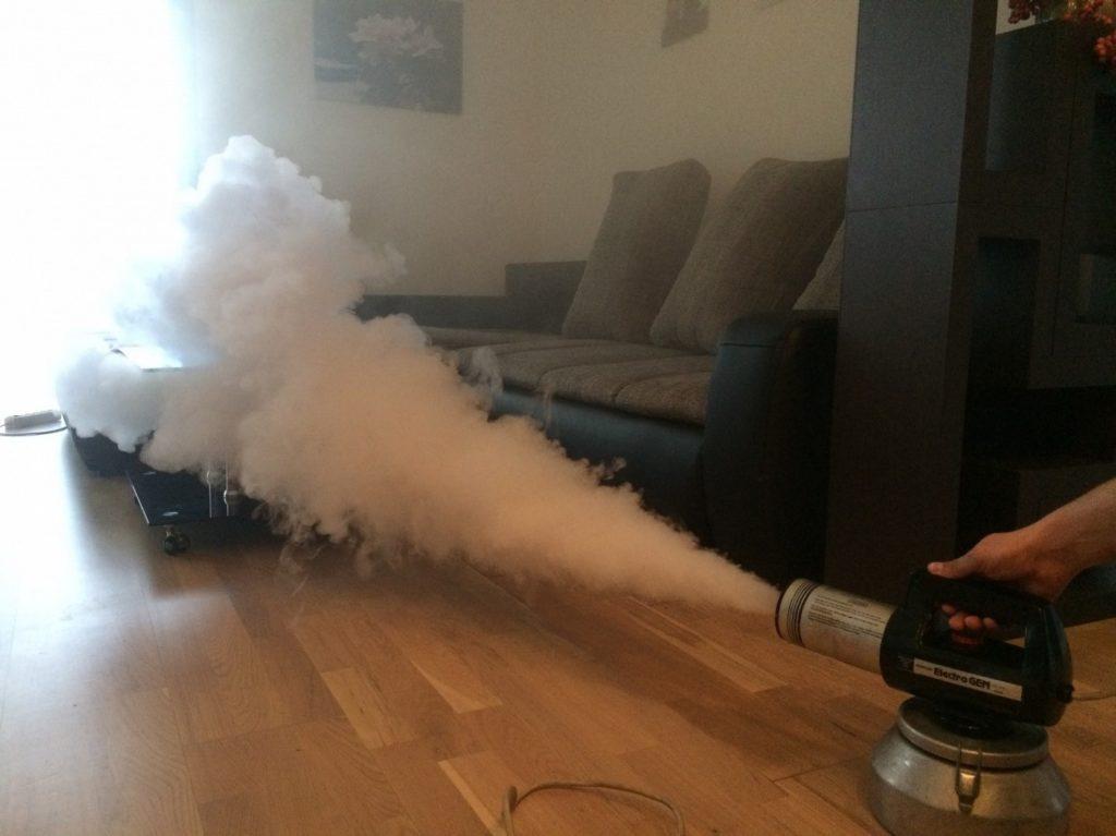 уничтожение запахов в доме