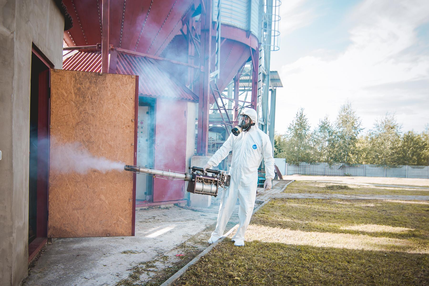 уничтожение насекомых на предприятии