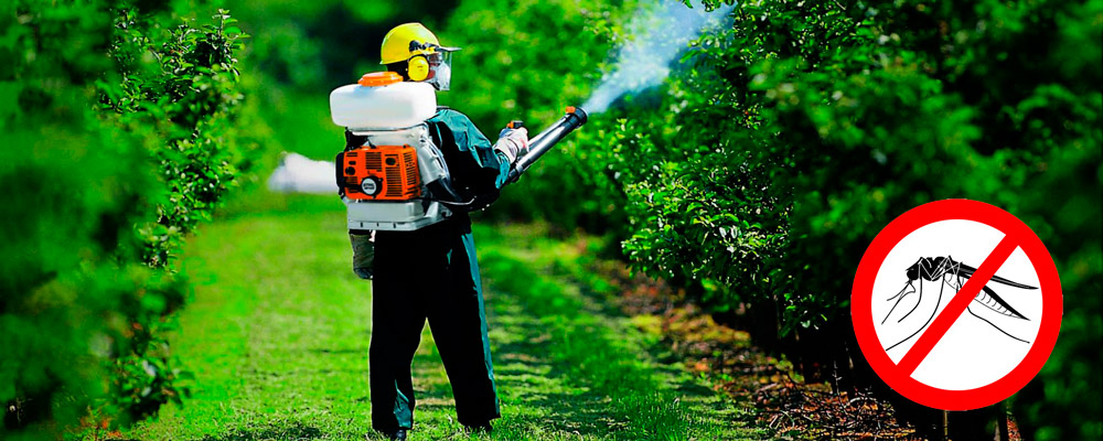 заказать уничтожение комаров